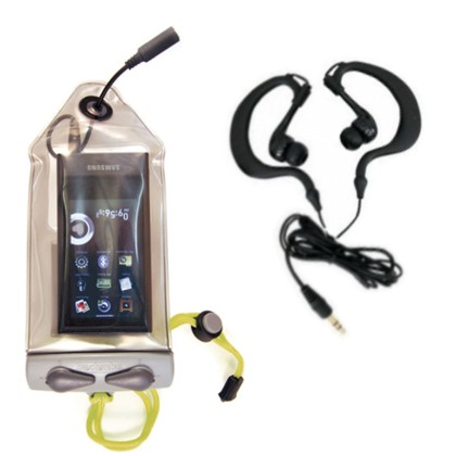 MP3 - iPod Case with Head Phones