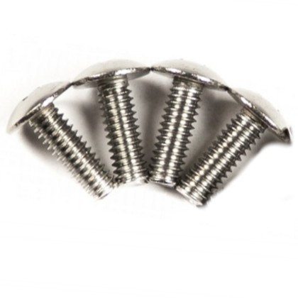 1/4-20 Truss Head Screw 3/4 inch, 4 pack