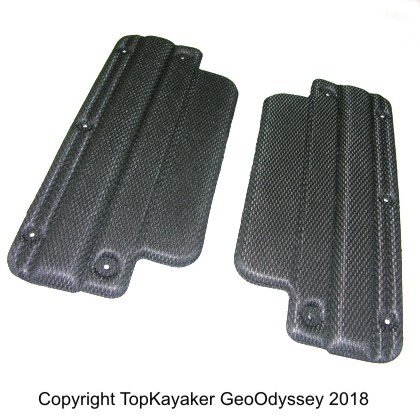 Zone Thighbrace Pads, Pair
