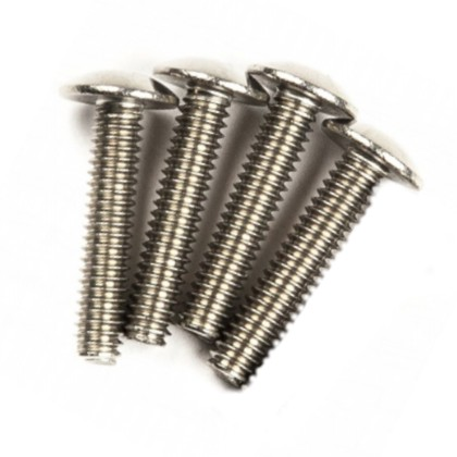 1/4-20 Truss Head Screw 1 1/2 inch, 4 pack
