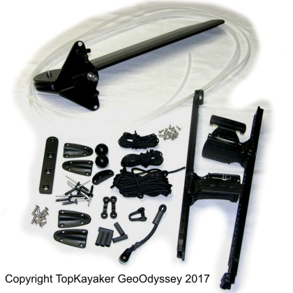 Cobra Kayaks Tourer Rudder Kit