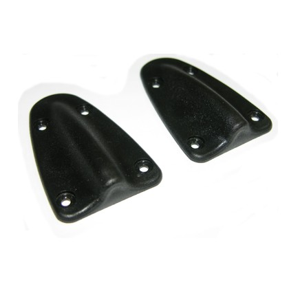 Cobra Rudder Cable Fairings, Pair