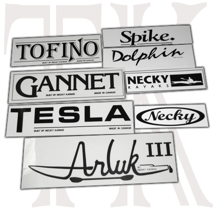 Necky Kayak Model Sticker [TKN-07-NKY] - $1 00 : TopKayaker