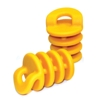 Sm. Scupper Stoppers, pair, yellow