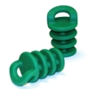 XS. Scupper Stoppers, pair, green