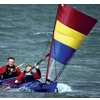 Pacific Action Sail, 2.2 sqm, red-yellow-blue