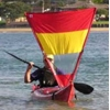 Pacific Action Sail, 1 sqm, red-yellow