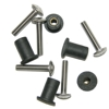 Well-Nuts with Stainless Steel Screws, 20 pack