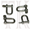 Rudder Shackles, pack of 4