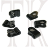 Rudder Tube Clamps, 1/8 in., 6 pack
