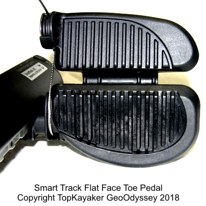 Recreational Toe Pilot Pedal Kit (No Cables)