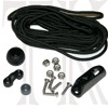 Classic Smart Track Rudder Rope Kit