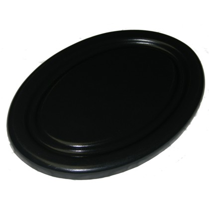 Oval Plastic Hatch Cover (16.5 x 12 in.)