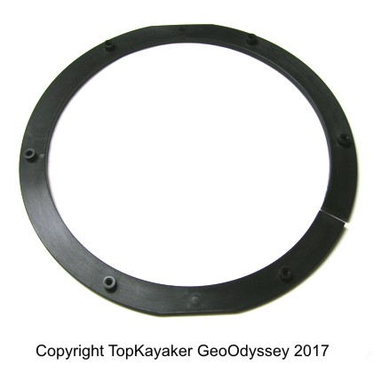 Backing Plate for 8 in. Hobie-Viking Hatch Rim - Click Image to Close