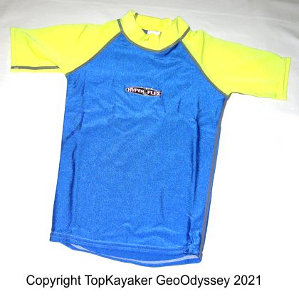 Child Rashguard T-Shirt (Size 6)