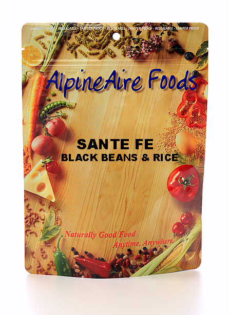 Santa Fe Black Beans and Rice