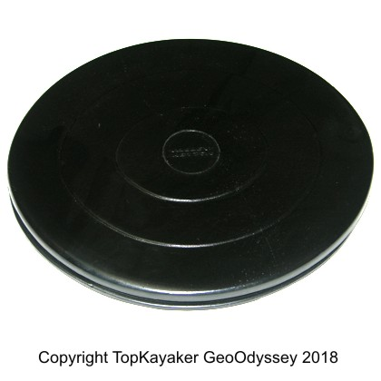 14.25 x 12.5 Inch Valley Club Oval Hatch Cover