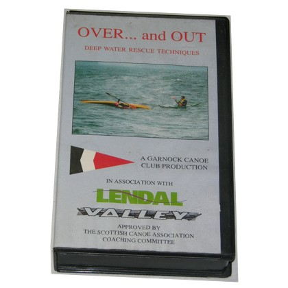 Over and Out Deep Water Rescue Techniques VHS Tape