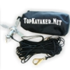 1.5 Lb. Anchor Kit with line, clip and bag