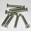 1.25 in. Stainless Flat Head Screws, 8 pack