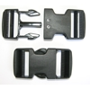 Dual Adjustable Side Release Buckles, 1.5 in. 2 pack