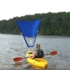 KayakSailor Up-wind sail