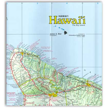 Reference Maps of the Islands of Hawaii – The Big Island - Click Image to Close