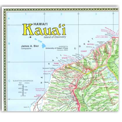Reference Maps of the Islands of Hawaii – Kauai - Click Image to Close
