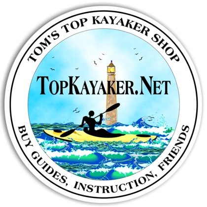 TopKayaker Sticker - Click Image to Close