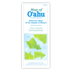 Reference Maps of the Islands of Hawaii – Oahu