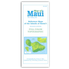 Reference Maps of the Islands of Hawaii – Maui