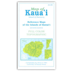 Reference Maps of the Islands of Hawaii – Kauai