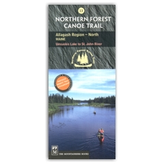 NORTHERN FOREST CANOE TRAIL Map 13