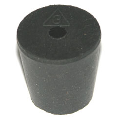 No. 3 Rubber Stopper
