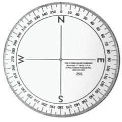 Nautical Protractor