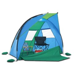Solar Shade beach shelter (medium) + camp chair