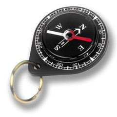 Companion mini pocket compass