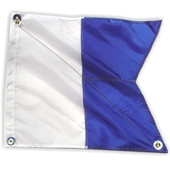20x24 Alpha FLAG, blue
