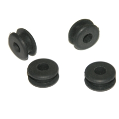 Rubber Rudder Grommets, 4 pack
