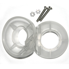 Drip Ring Kit for ONE pc. Paddle, 2 pack (clear)