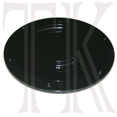 Sea Dog 6 in. Quarter Turn Deck Plate